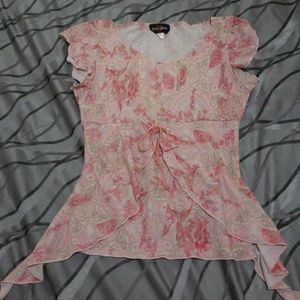 Other - Pink. really. Cute. Shirt kids. Size small 7/8